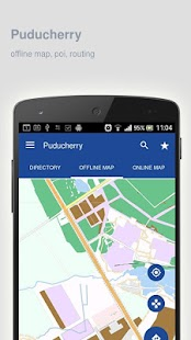 Puducherry Map offline - screenshot