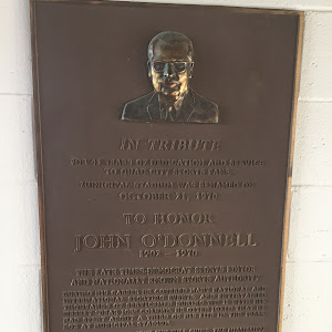 In Tribute For 45 years of dedication and service To Quad-City sports fans, Municipal Stadium was renamed on October 21, 1970 To Honor John O'Donnell 1902-1970   The late Times-Democrat sports editor ...