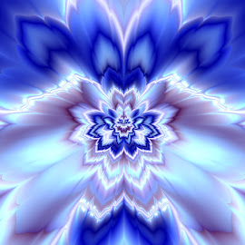 Abstract flower by Cassy 67 - Illustration Abstract & Patterns ( abstract, abstract art, fractal art, digital art, fractal, flowers, fractals, digital, energy, flower )