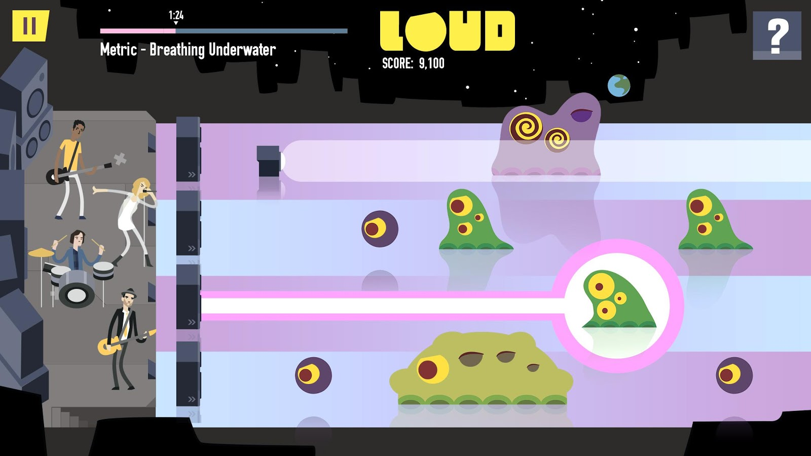 LOUD on Planet X Screenshot 1
