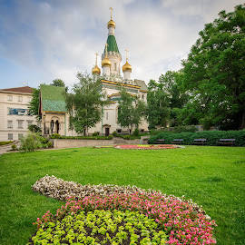 Russian Church, Sofia by Tzvika Stein - Buildings & Architecture Places of Worship