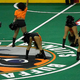 I need to go to more Buffalo Bandits games! by Thomas Fitzrandolph - Sports & Fitness Lacrosse ( buffalo ny, nikon l120, cheerleaders, buffalo bandits, lacrosse )