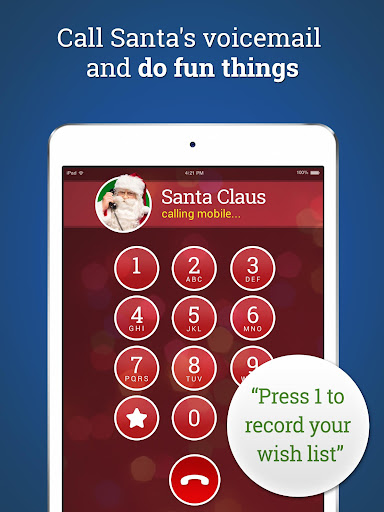 Message from Santa - phone call, voicemail & text screenshot 4