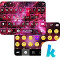 Space Dust Emoji Kika Keyboard 41.0 icon