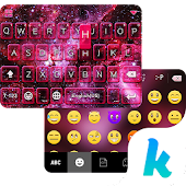 Free Space Dust Emoji Kika Keyboard APK for Windows 8