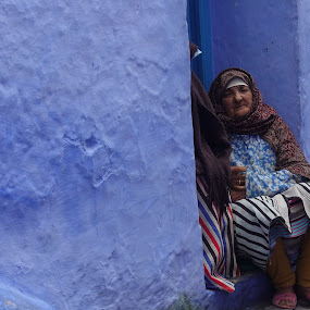 Woman by VAM Photography - People Street & Candids ( woman, culture, morocco, travel, street photography, chefchaouen,  )