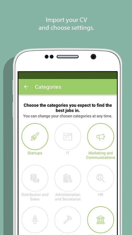 Truffls Job Search: Swipe Jobs Screenshot 1