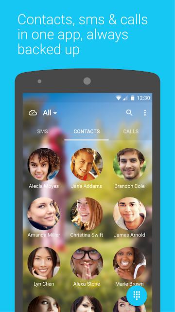 Contacts + screenshots