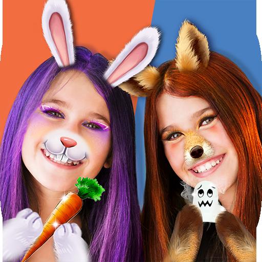 Pet Animal Party Playtime - selfie lens camera (game)