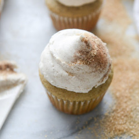Chai Cupcakes with Brown Butter Chai Icing.