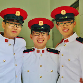 Young Soldiers by Koh Chip Whye - People Portraits of Men (  )