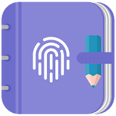 App diary w/ fingerprint lock JOKE apk for kindle fire