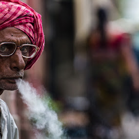 by Souvik Goswami - People Portraits of Men