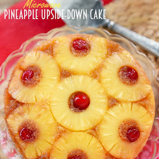 Upside Down Cake Microwave Recipes