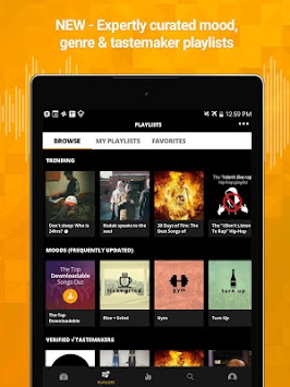 Audiomack Mixtapes & Music App APK screenshot thumbnail 8