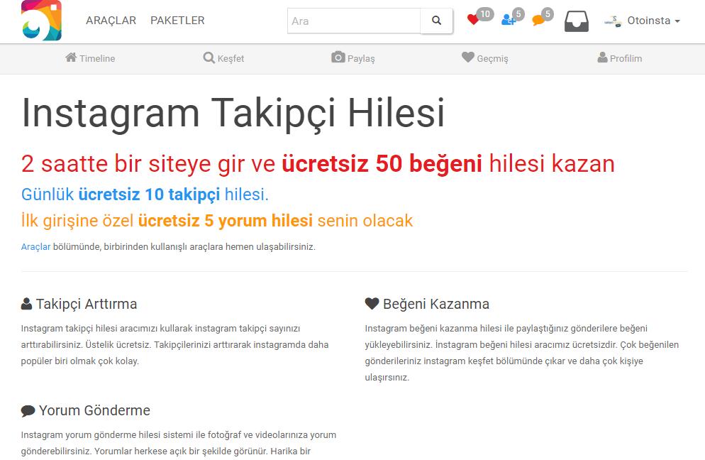 Takipçi ve Beğeni APK 1.1 Download - Free Social APK Download