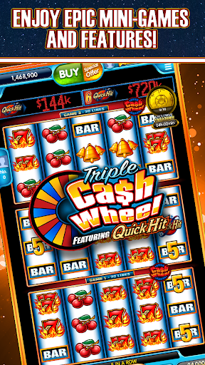 Quick Hit Casino Slots - Free Slot Machines Games screenshot 2
