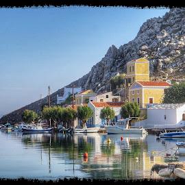 Pedi, Sými, Greece by John Pritty - Landscapes Waterscapes ( symi island winter )