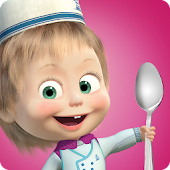 Masha and Bear: Cooking Dash APK for Bluestacks
