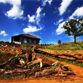 by Syam Alendu Nair - Landscapes Mountains & Hills
