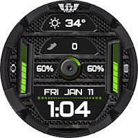 Z SHOCK 12 color changer watchface for WatchMaker on PC (Windows & Mac)