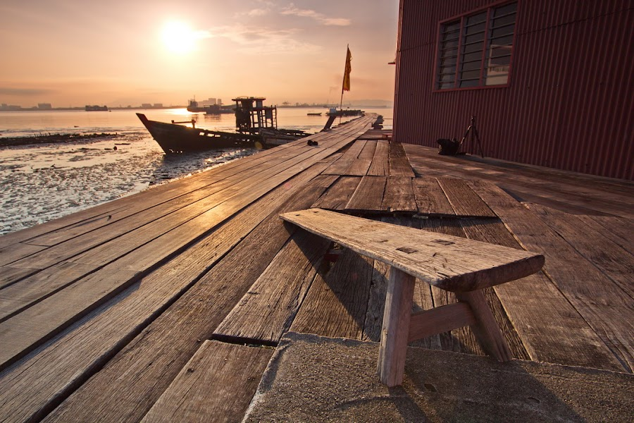 Tan Jetty | A Broken Chair by Danny Tan - Travel Locations Landmarks