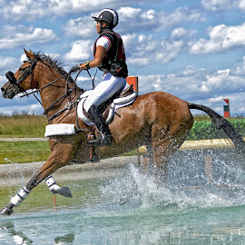 Cross Country Water Hazard by Twin Wranglers Baker - Sports & Fitness Other Sports