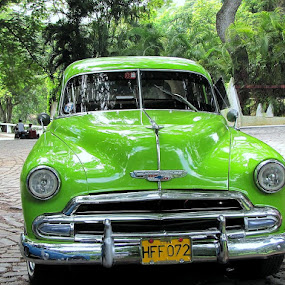 Cuba by Charlotte Weychan - Transportation Automobiles