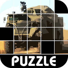 Army Truck - 4X4 Puzzle