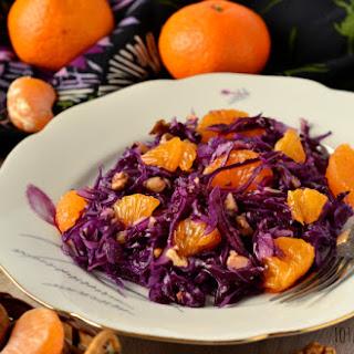 Red Cabbage Orange Salad Recipes