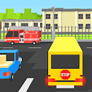 School Bus Blocky icon