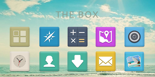 The Box-Solo Theme - screenshot