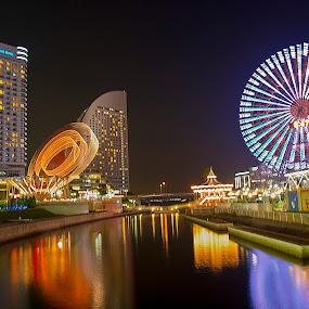 Minato Mirai by Ketut Pujantara - City,  Street & Park  Amusement Parks
