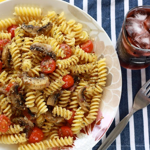 Vegetarian Pasta with Toasted Fennel Seeds