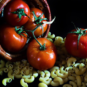 Tomatoes N Pasta by William Ay-Ay - Food & Drink Fruits & Vegetables