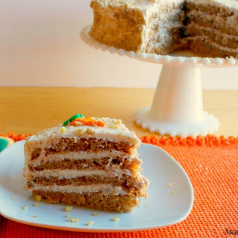 Moist Carrot Cake Recipe With Cream Cheese Frosting