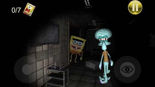 Sponge Hospital. Five Nights at Bob 3D