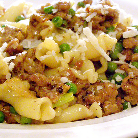 Pasta with Sausage and Leeks