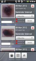 Screenshot of Doctor Mole - Skin cancer app