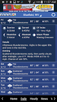 Screenshot of WVVA Weather
