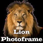 Lion Photo Frames Icon