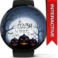 Halloween Spooky Watch Face For PC (Windows And Mac)