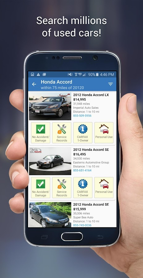 Used Car Finder - Carfax Find Used Cars For Sale Android Apps On Google Play