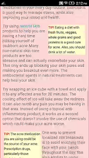 Acne Tips And Treatments - screenshot