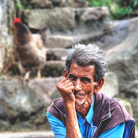 by Bharathkumar Hegde - People Portraits of Men