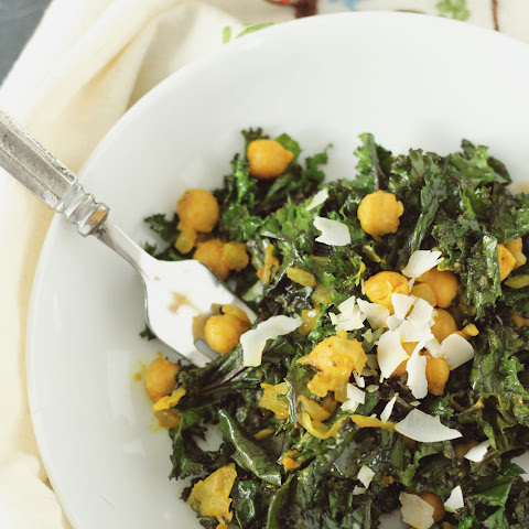 Turmeric Kale and Chickpeas