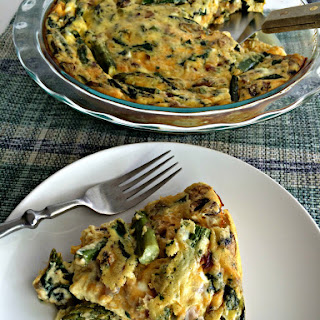 Crustless Spring Vegetable Quiche