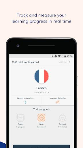 Lingvist: learn a language – fast screenshot 3