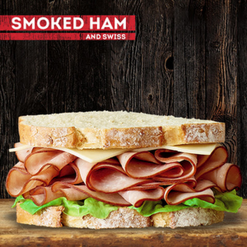 Smoked Ham and Swiss Sandwich