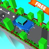 Game Blocky Cars: Cross the Bridge APK for Kindle